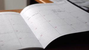 calendrier des CAP administratives à l'EAP Sgen-CFDT